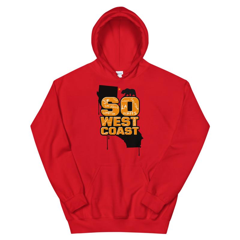 So West Coast Long Unisex Hoodie