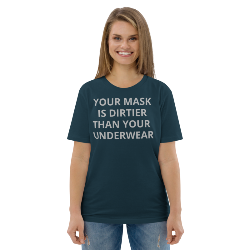 Dirty Underwear Unisex Organic Cotton t-shirt