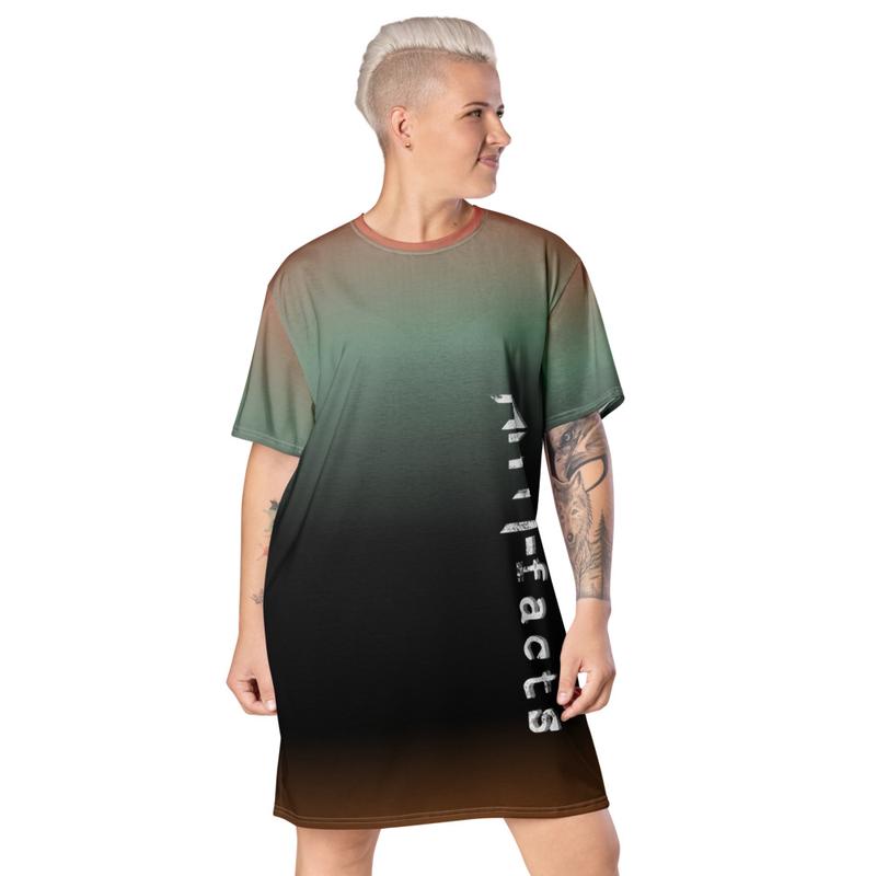 Anti-facts Deadbow T-shirt dress