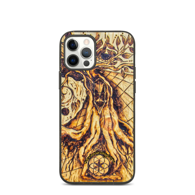 Writing with Fire Biodegradable phone case