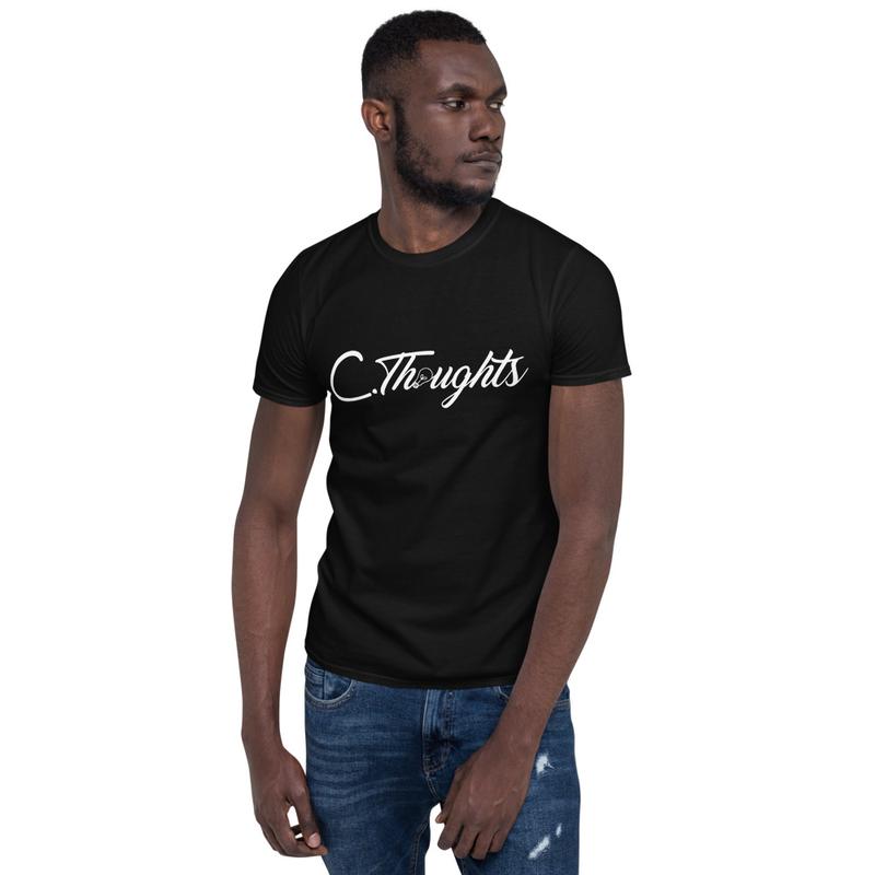 C.Thoughts Logo Black T-Shirt