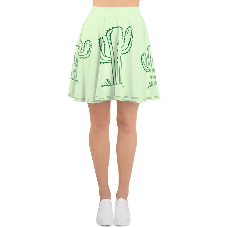 Cactii Skater Skirt