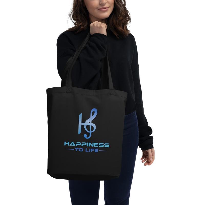 Happiness to Life Eco Tote Bag