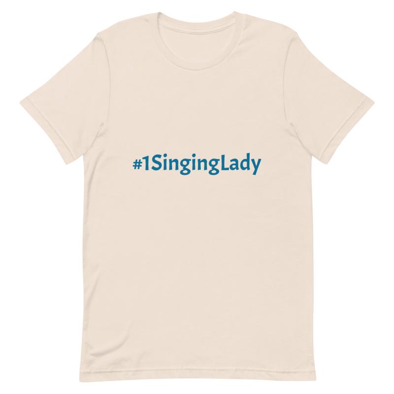 #1SingingLady Short-Sleeve Unisex T-Shirt