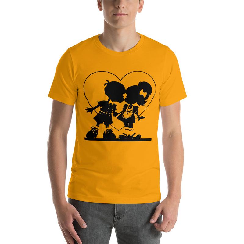 Casanova Love Short-Sleeve Unisex T-Shirt