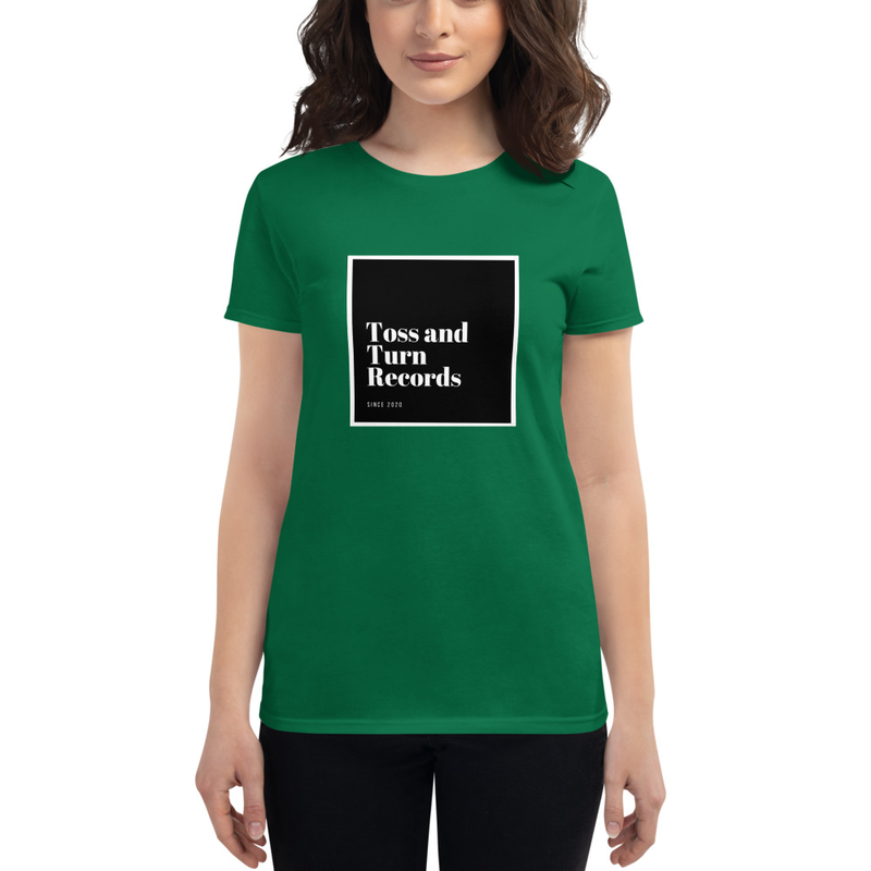 Toss and Turn Records Women's short sleeve t-shirt