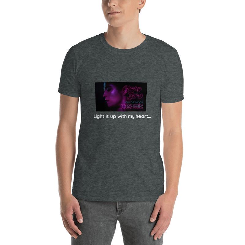 Unisex Short-Sleeve Hold the Moon (Retro Mix) T-Shirt