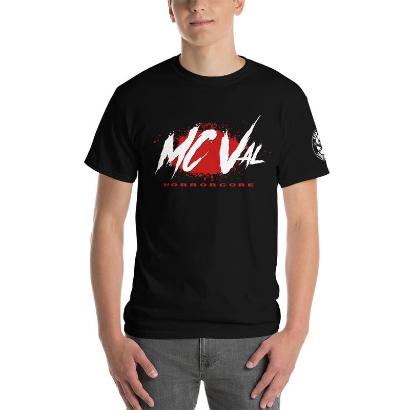 "Men's MC Val Bloody ""Horrorcore"" Shirt (GRE Logo on sleeve)"