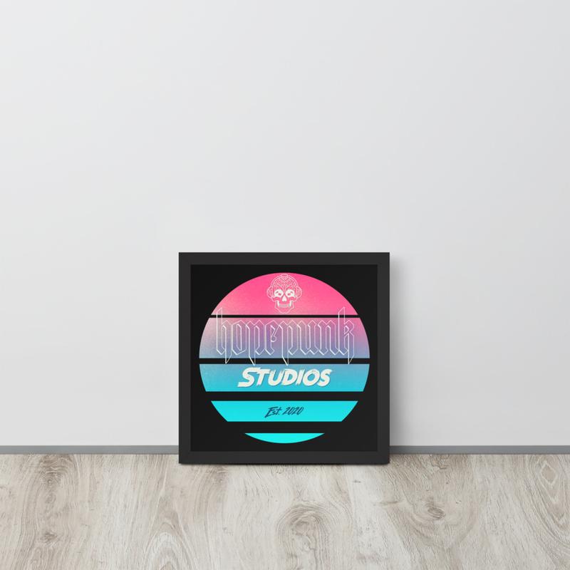 Framed poster - HopePunk Studios