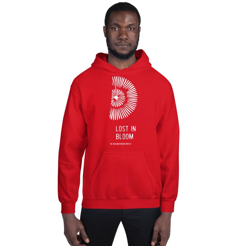 LOST IN BLOOM - Hoodie (red)