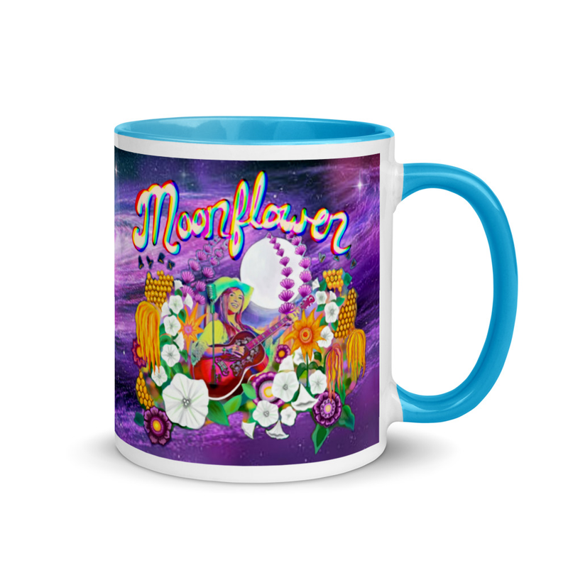 Moonflower Galaxy Mug