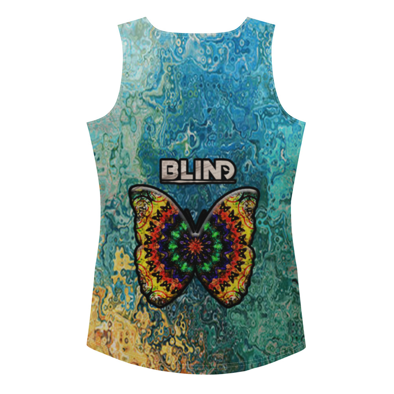 Women's Americana Exotica bLiNd Sublimation Cut & Sew Tank Top