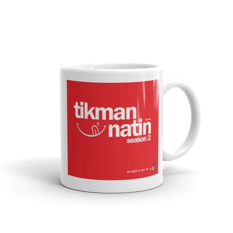 Tikman Natin Sarap White glossy mug