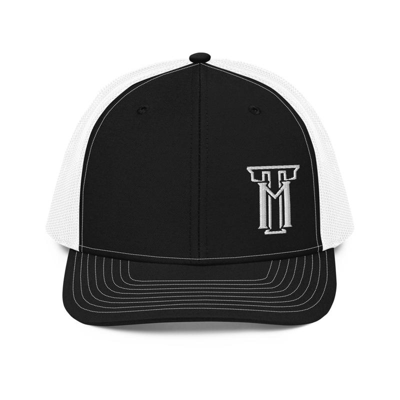 TM Black/White Trucker Cap
