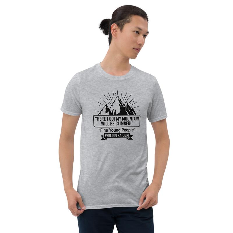 Unisex T-Shirt Mountain Logo Light T-Shirt