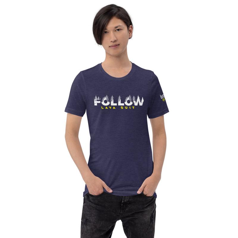 Short-Sleeve Unisex T-Shirt - LAVA SUIT