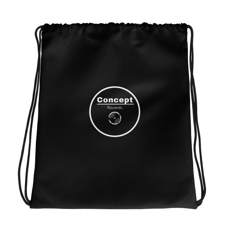 Drawstring bag - Records