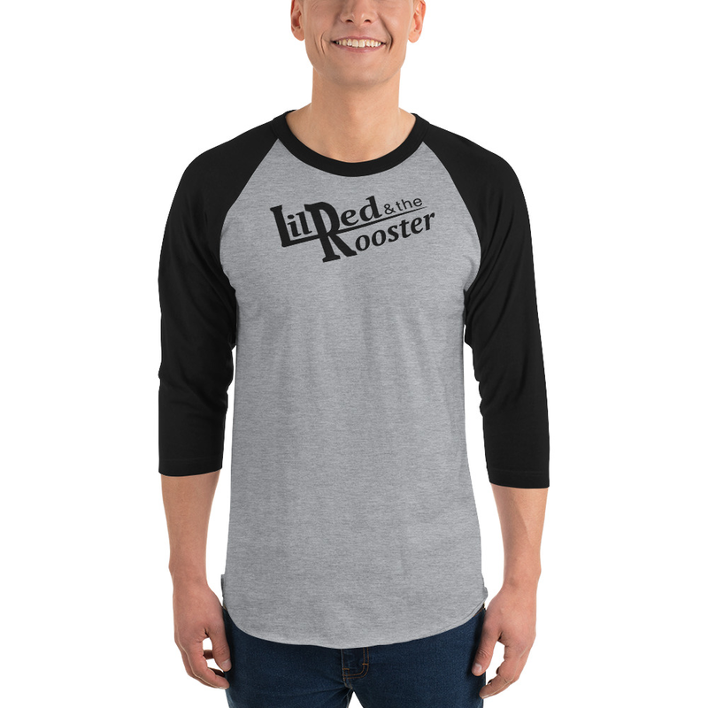 3/4 sleeve raglan shirt unisex