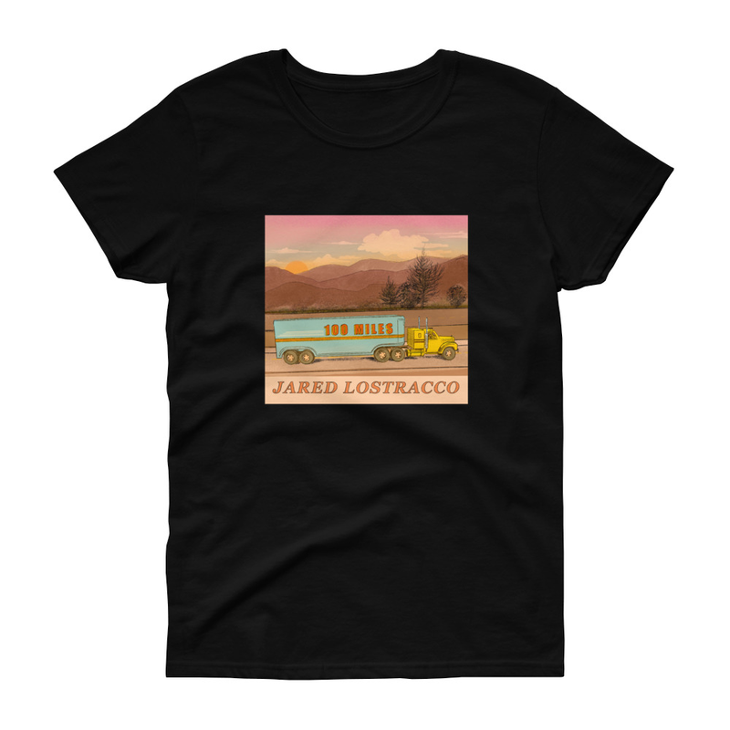 Women's 100 Miles T-shirt