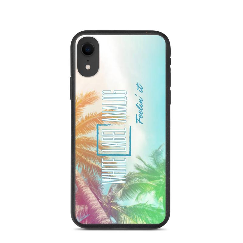 WLA Feelin' it - Biodegradable iPhone Case (Vertical Logo)