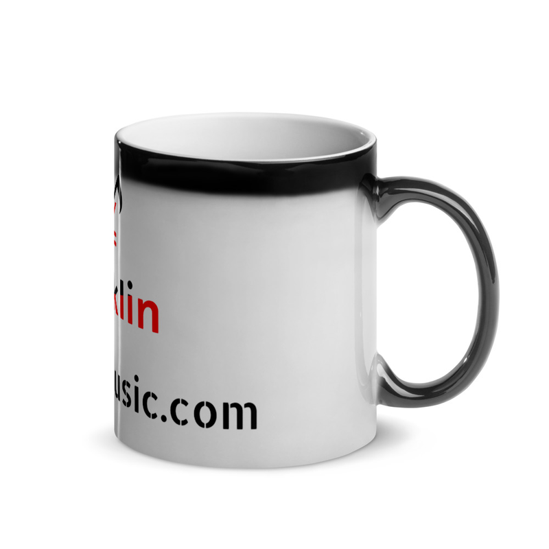 Zhaklin Magic Mug (the cup is black when poured hot water, it reveals the design)
