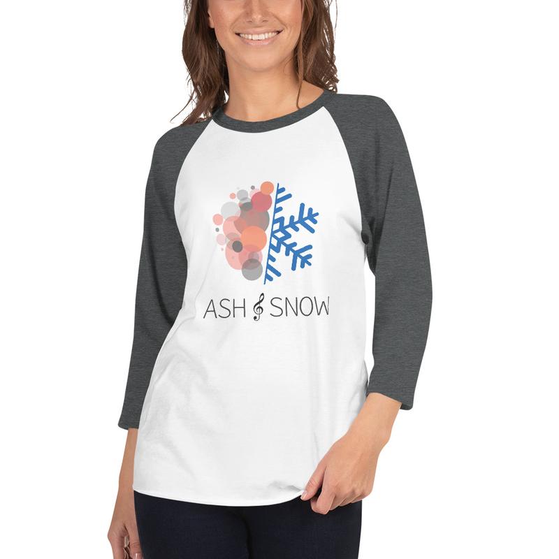 Unisex 3/4 Sleeve Raglan Shirt