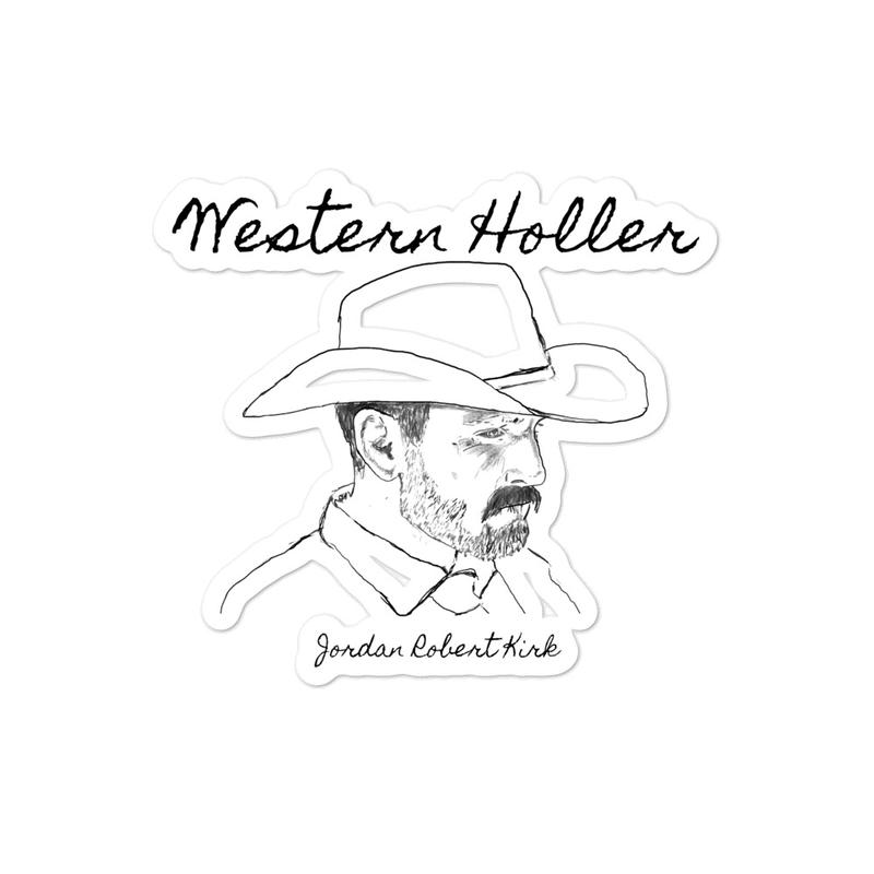 Western Holler Sticker