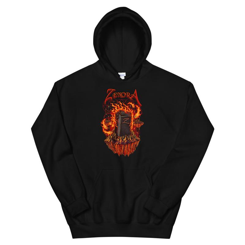 Fire Logo Unisex Hoodie