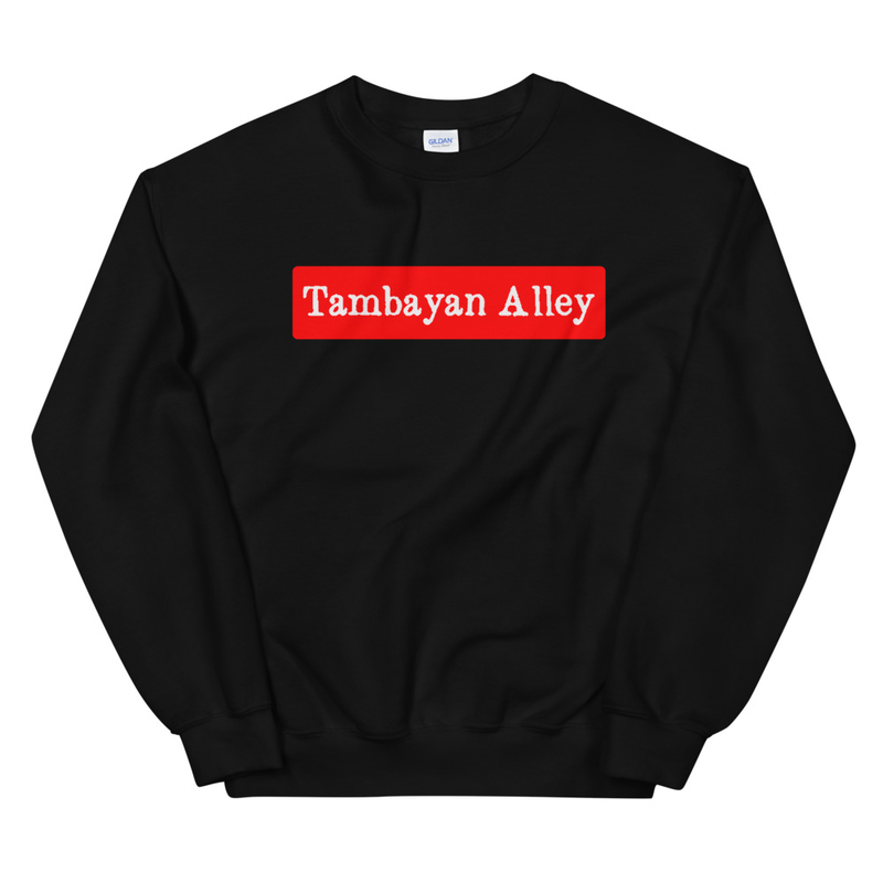 Tambayan Alley Red Inner Unisex Sweatshirt