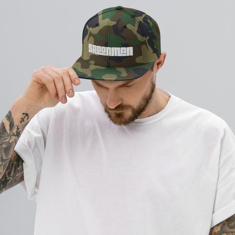 sPoonman Snapback Hat
