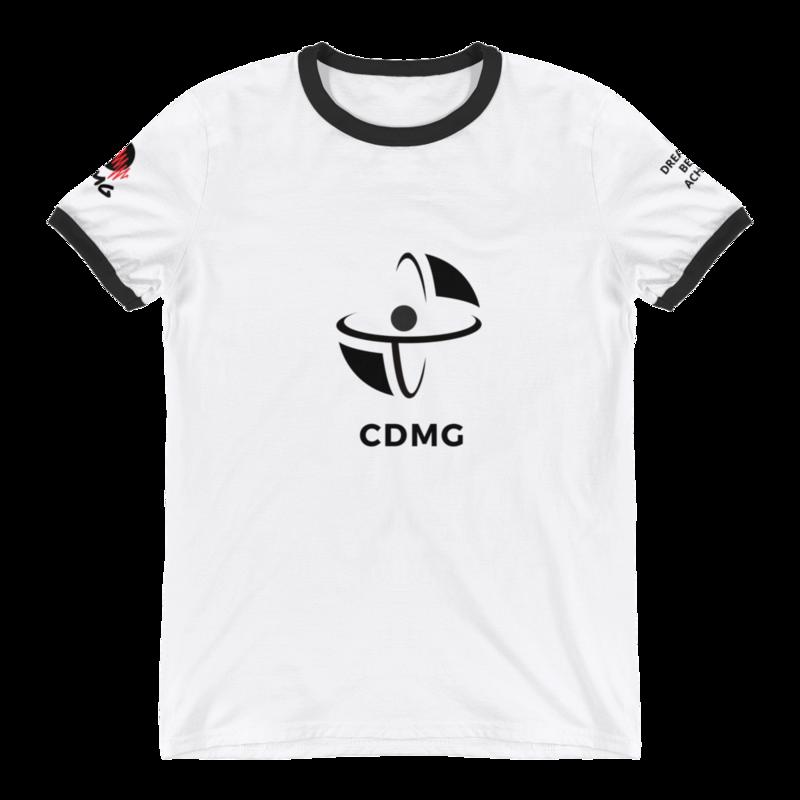 CDMG Mens Ringer T-Shirt