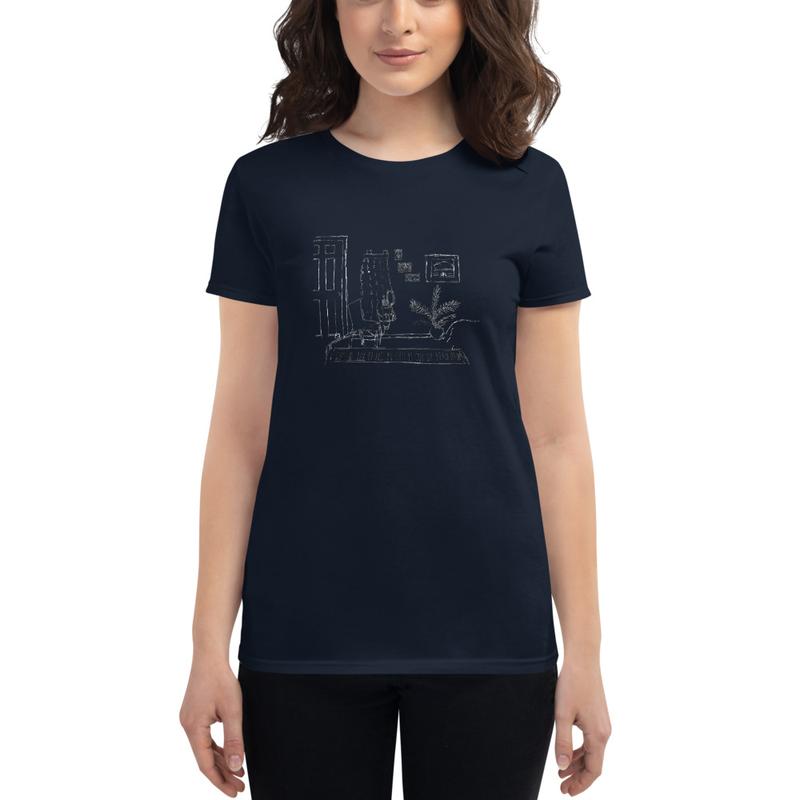"Women's ""Corner"" short sleeve t-shirt"