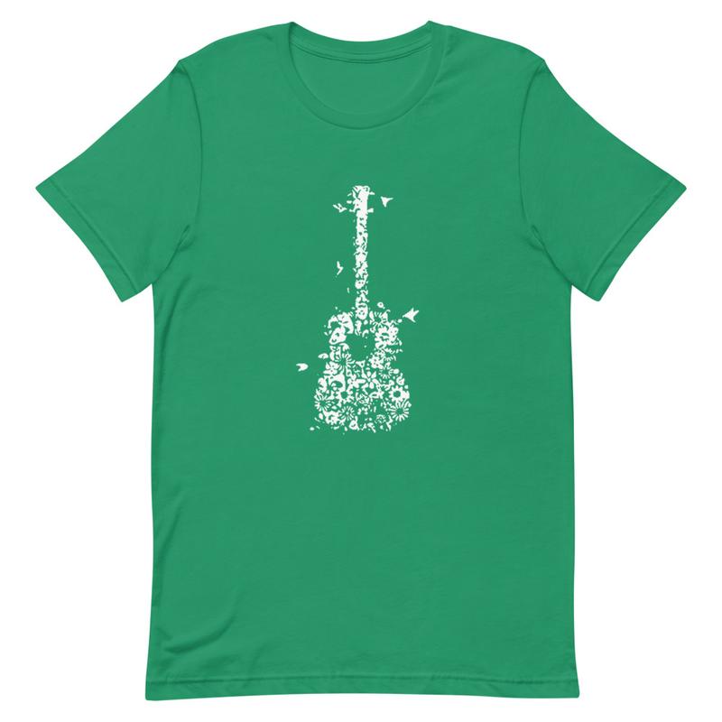 Acoustic Guitar Short-Sleeve Unisex T-Shirt