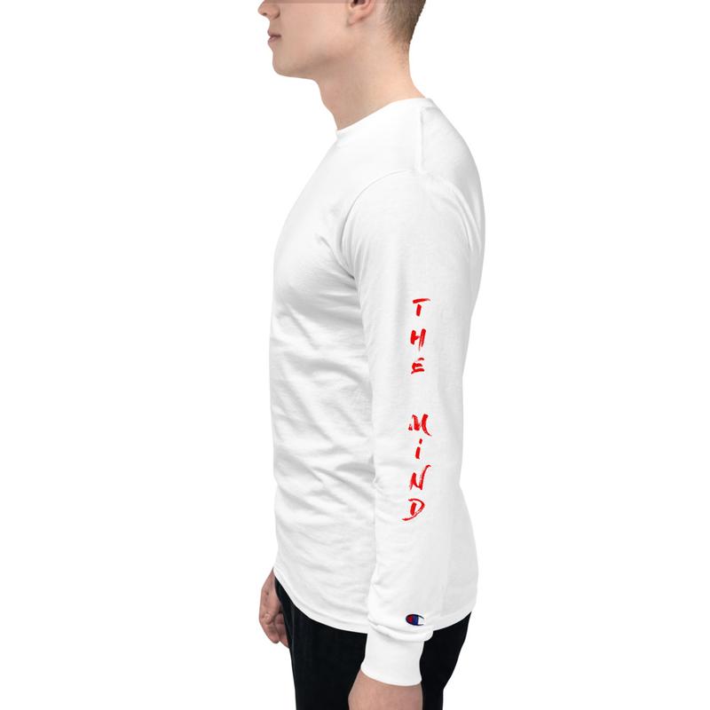 Men's Champion Long Sleeve Shirt - Master of the Mind