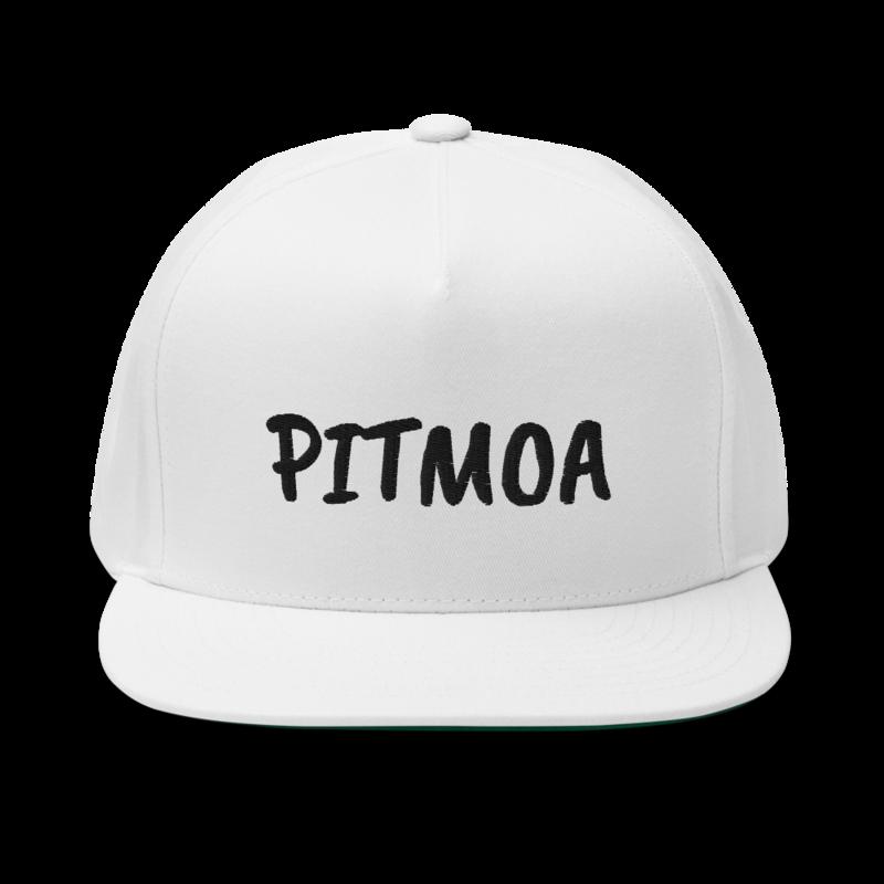 PITMOA Snapback Hat - White