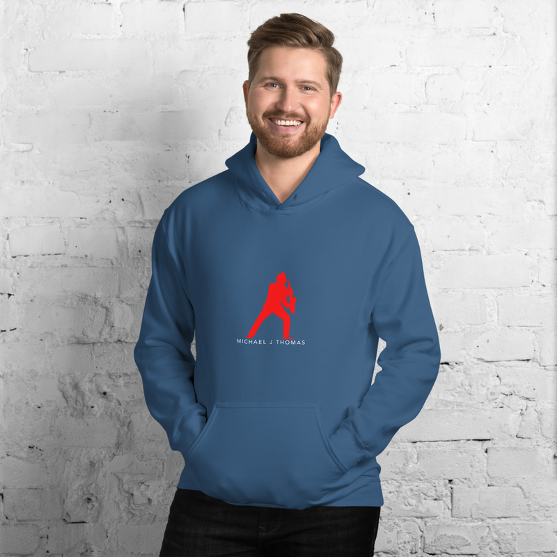 Sax Man Unisex Hoodie (Available in more colors)