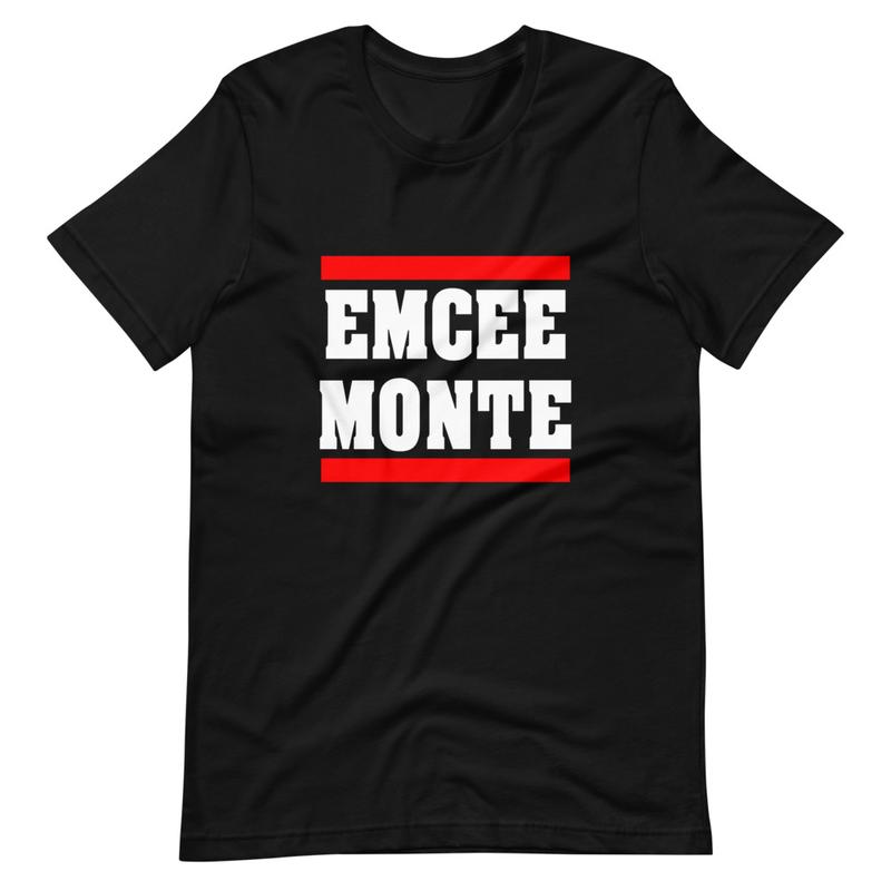 Emcee Monte Classic Logo tee Black