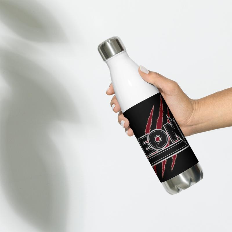 Cat Scratch Logo Stainless Steel Water Bottle