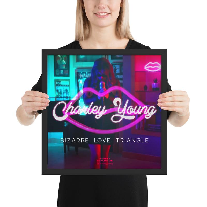 Bizarre Love Triangle Framed Poster