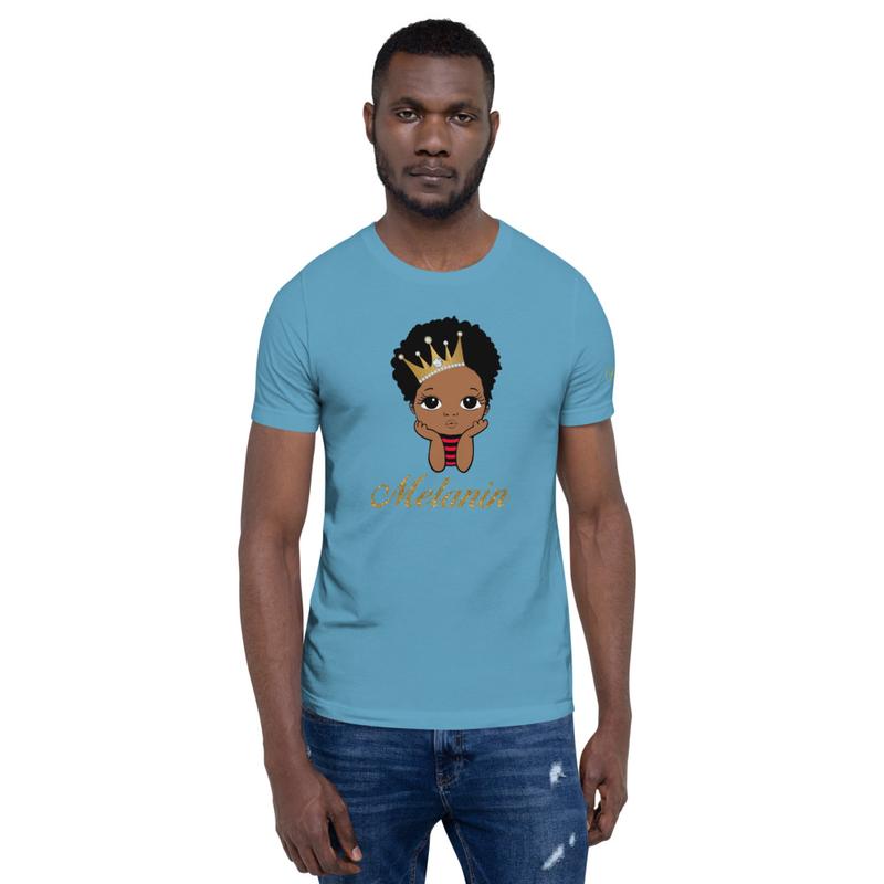 Prince Melanin Short-Sleeve Unisex T-Shirt