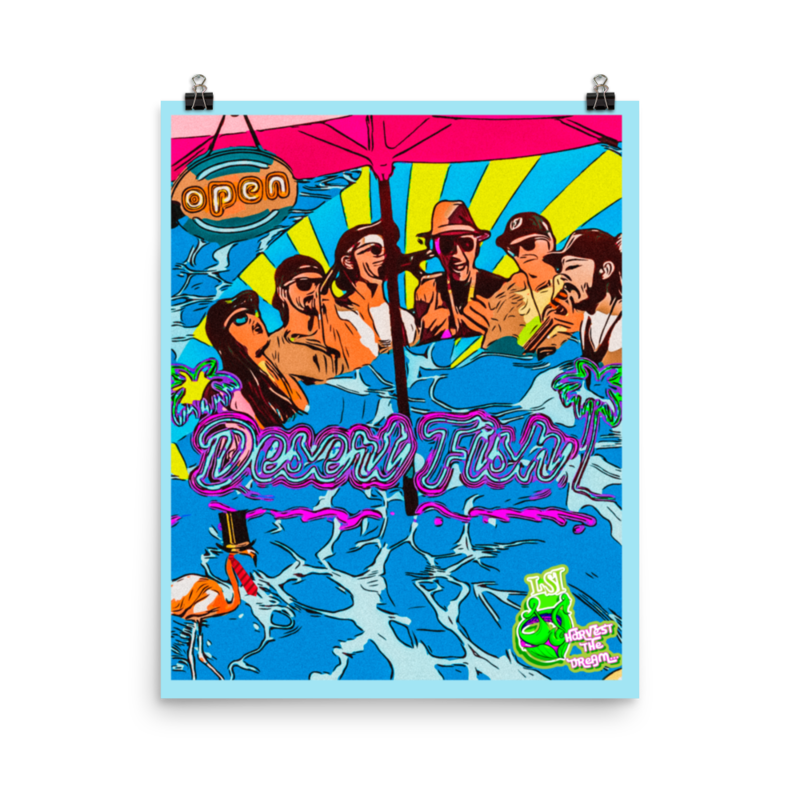 LightSeed Collab 16x20 Pool Party Poster