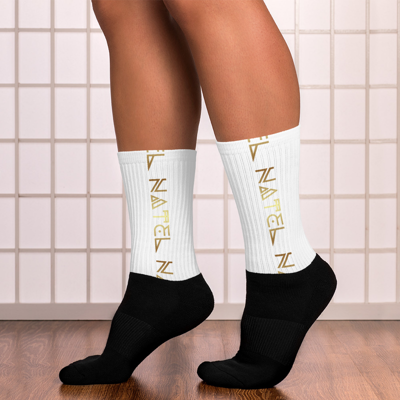 NATEL Socks (White)