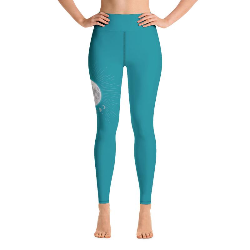 Moon Yoga Leggings, With Pocket