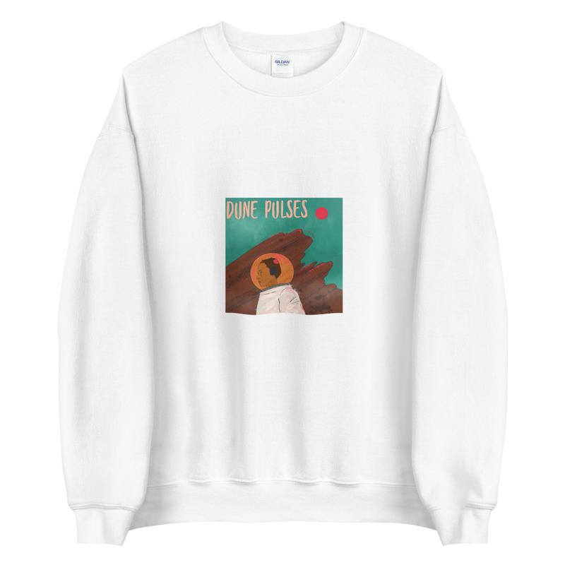 Unisex Sweatshirt (Dune Pulses - Astronaut)