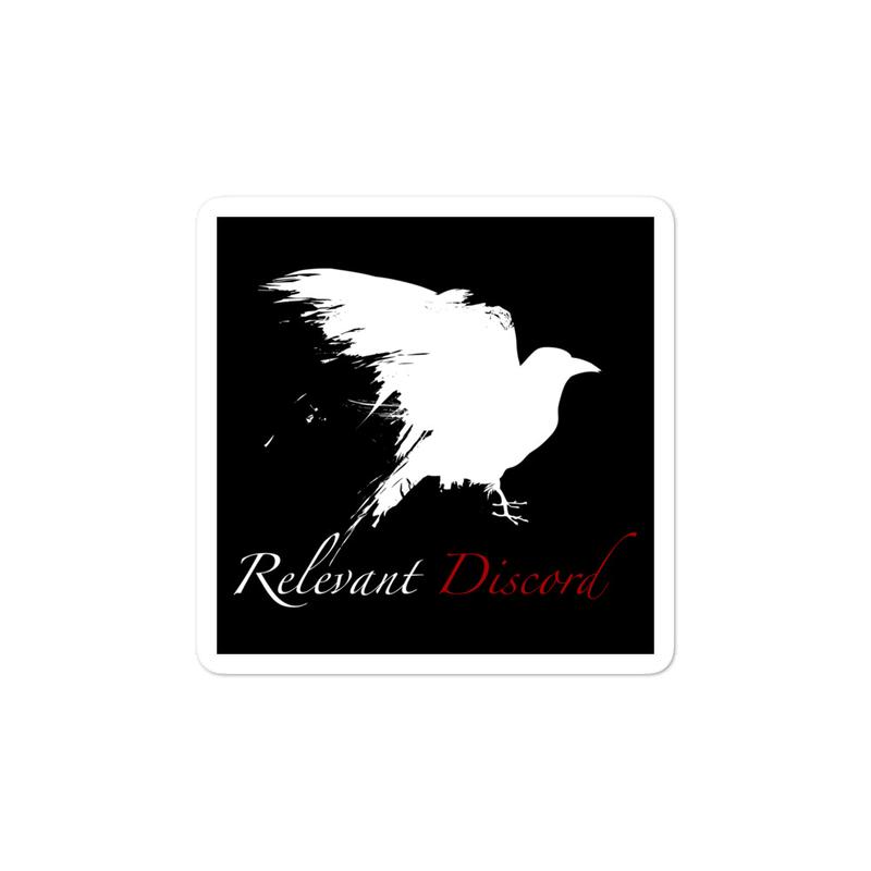 Raven-ous Sticker