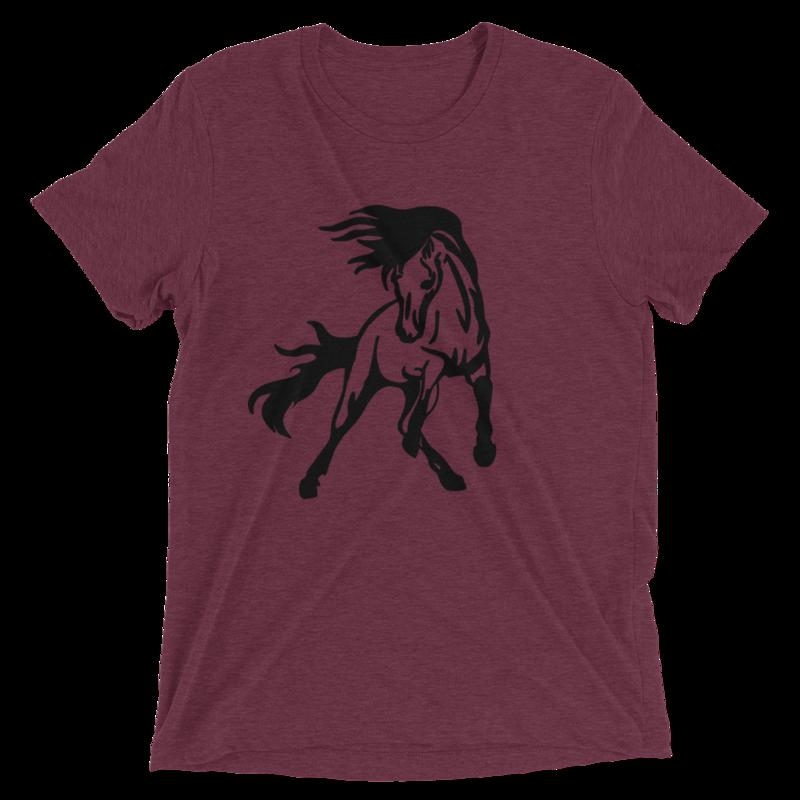 Horse Logo Tri-Blend T-Shirt