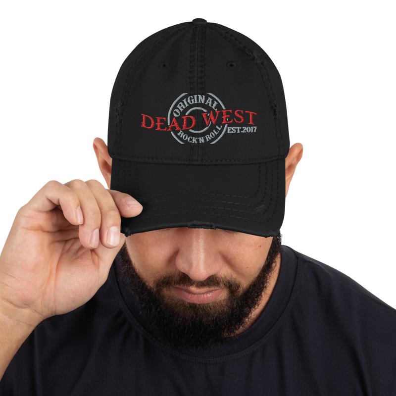 Distressed DW Hat