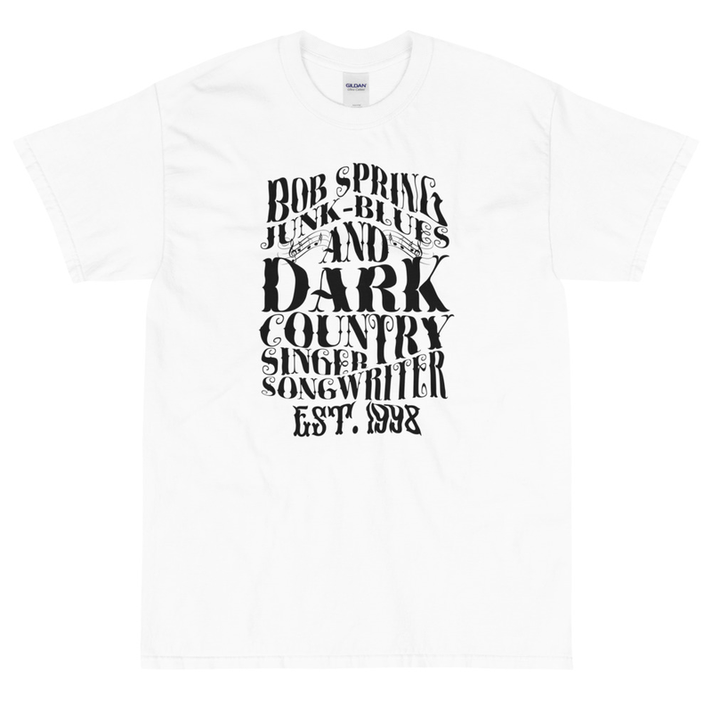 Men T-shirt - Est. 1998 - Black on White