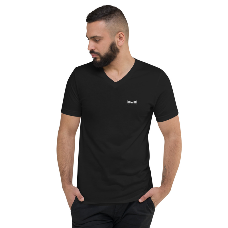 Deeper Vision - Unisex Short Sleeve V-Neck T-Shirt