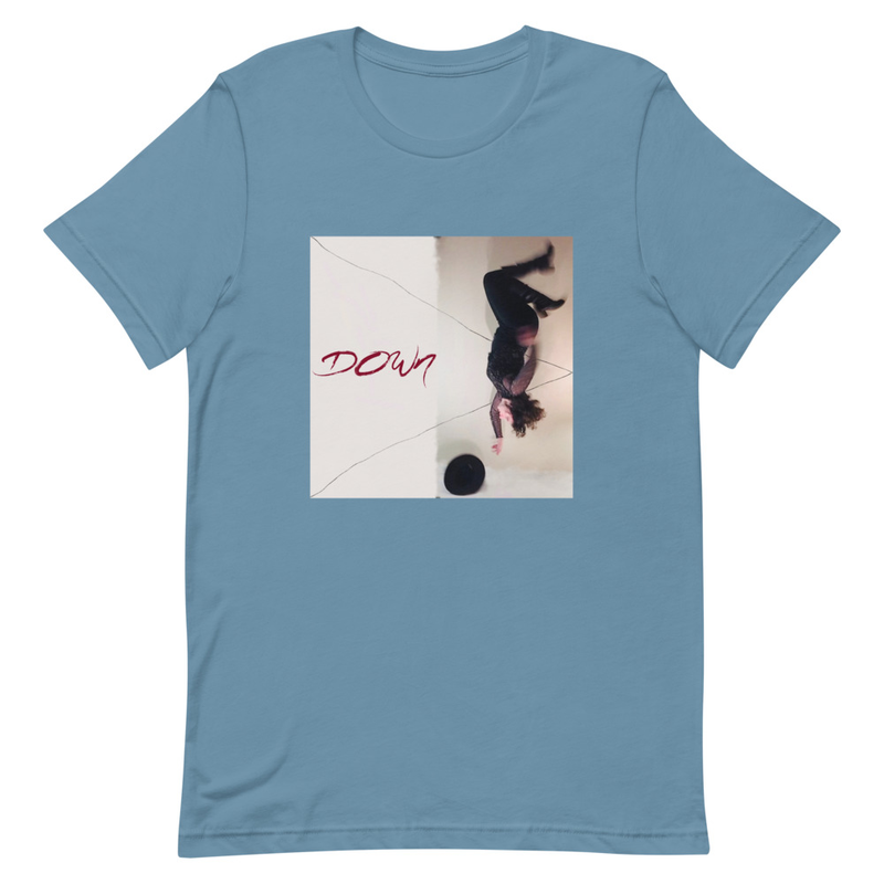 """Down"" Unisex T-shirt"